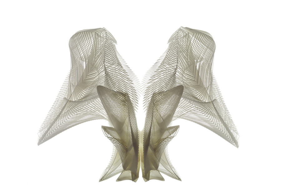 Iris van Herpen, Escapism, January 2011. Photo by Bart Oomes, No 6 Studios. © Iris van Herpen