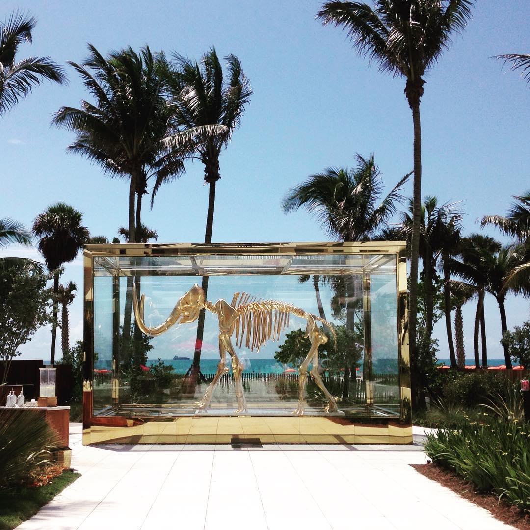 Faena Hotel art deco travel miamibeach miami sun palmtrees blueskyhellip