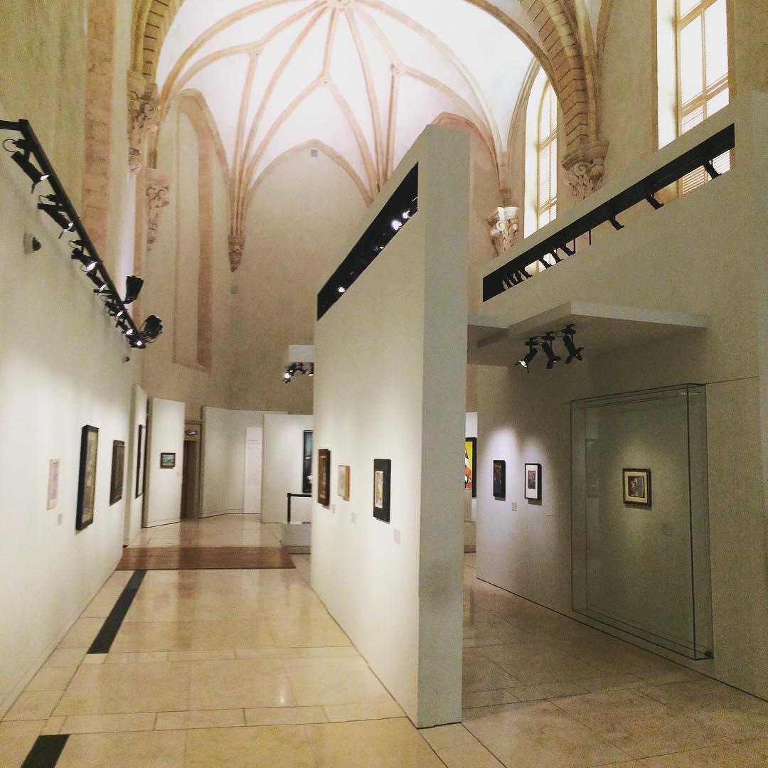 Art in a chapel aixenprovence france provence sud chapel arthellip