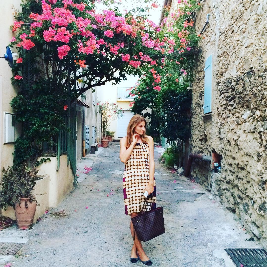On the streets of St Tropez sttropez travelgram streetsof flowershellip