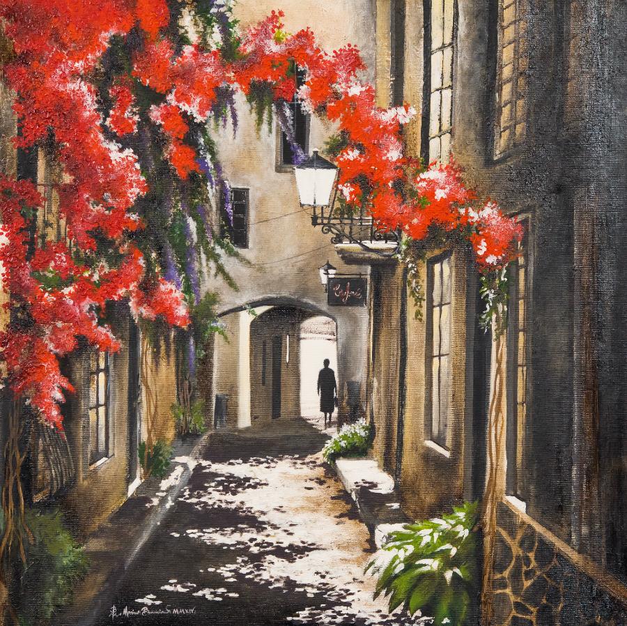"""Marius Buruiană """"Strada umbrelor și a florilor"""""""