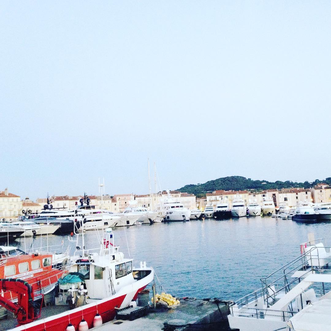 Port of St Tropez sttropez sunchaser port boats yachts jetsethellip