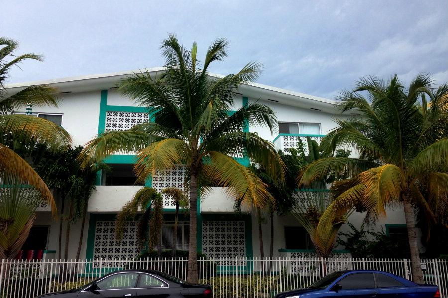 Art Deco Historic District Miami Beach