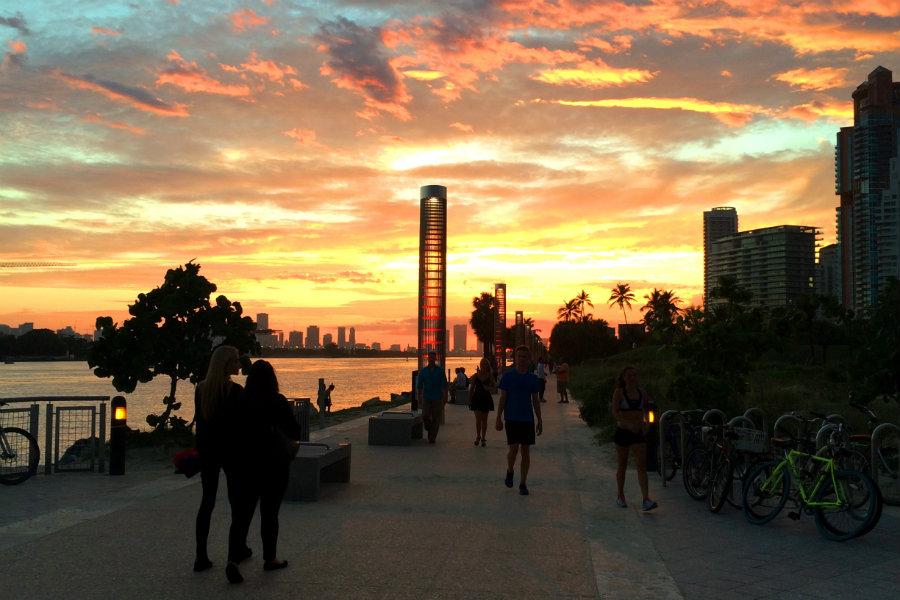South Pointe Pier Miami Beach