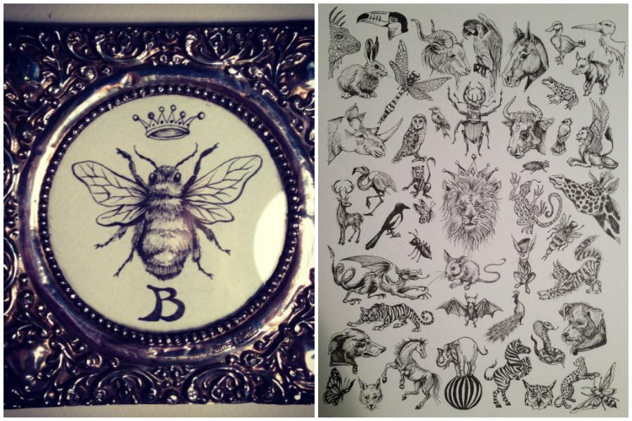 jewellery for Annina Vogel Liberty London