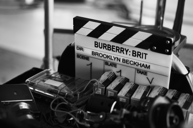 Burberry Brit fragrance campaign