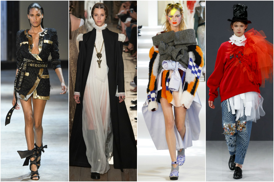 Alexandre Vauthier, Valentino, Maison Margiela, Viktor&Rolf haute couture
