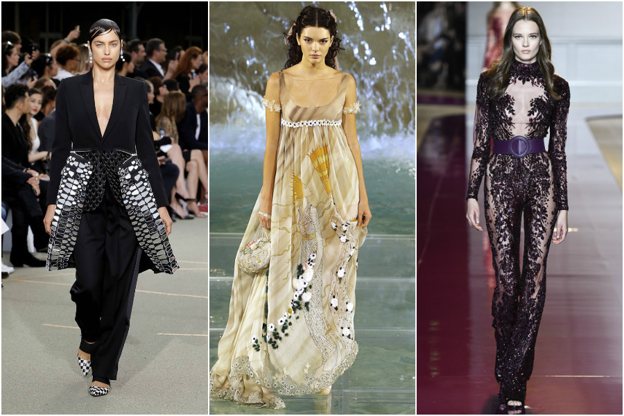 Givenchy, Fendi, Zuhair Murad haute couture