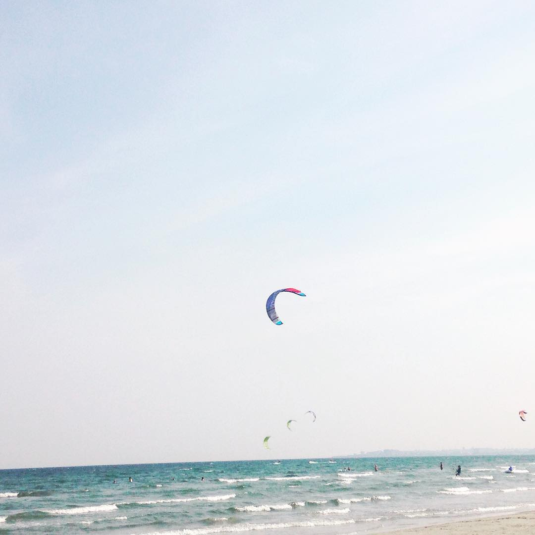 Freedom sun sea sand wind kite sunday morning beautifulday zenmoodhellip