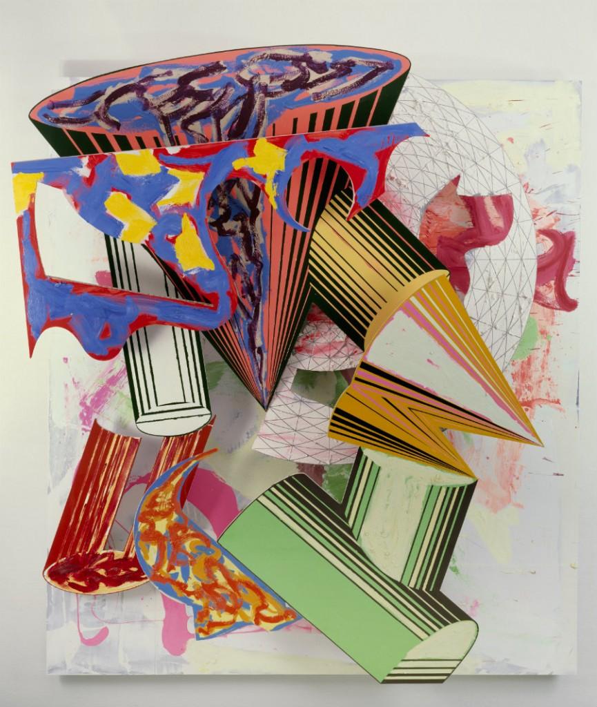 Frank Stella, Gobba zoppa e collotorto, 1985