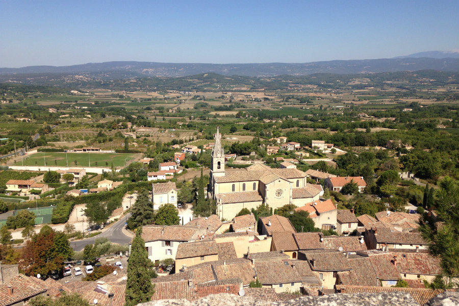 Provence view from up