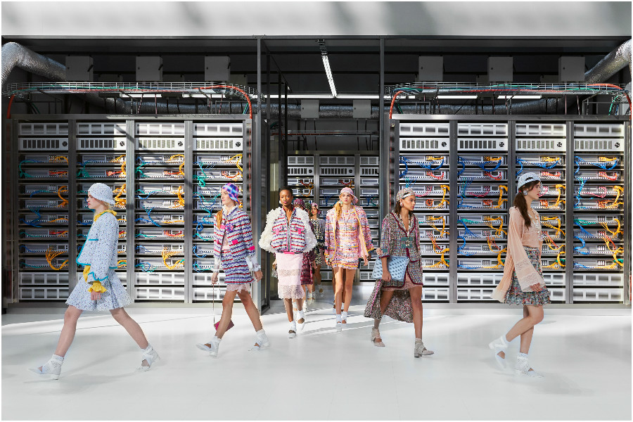 Chanel spring/summer 2017 data center