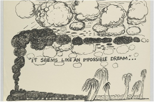 Philip Guston drawings
