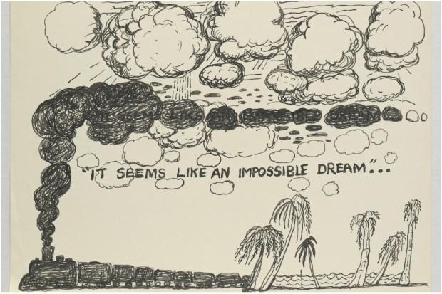 Philip Guston drawings