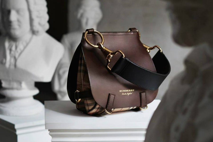 On the wish list: Burberry, The Bridle Bag