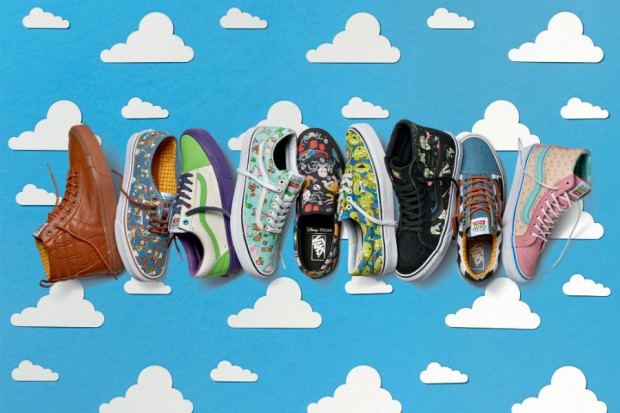 20 years has passed since Toy Story was a hit on the big movie screen. And Toy Story characters are back now, on Vans shoes, in Vans x Toy Story collection.