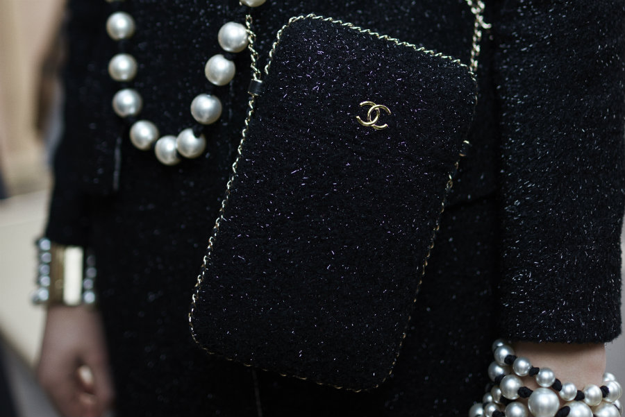 Chanel bags fall/winter 16/17 pearls
