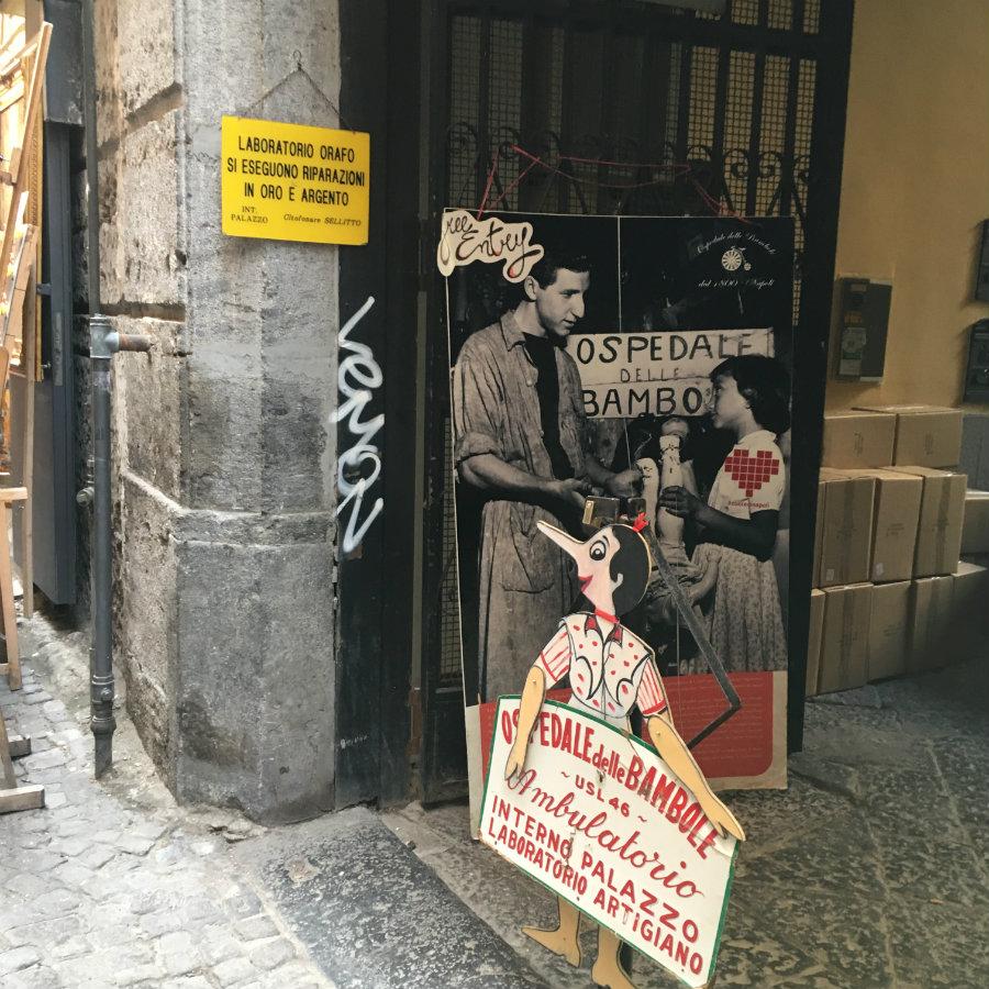 Napoli Ospedale de la bambole