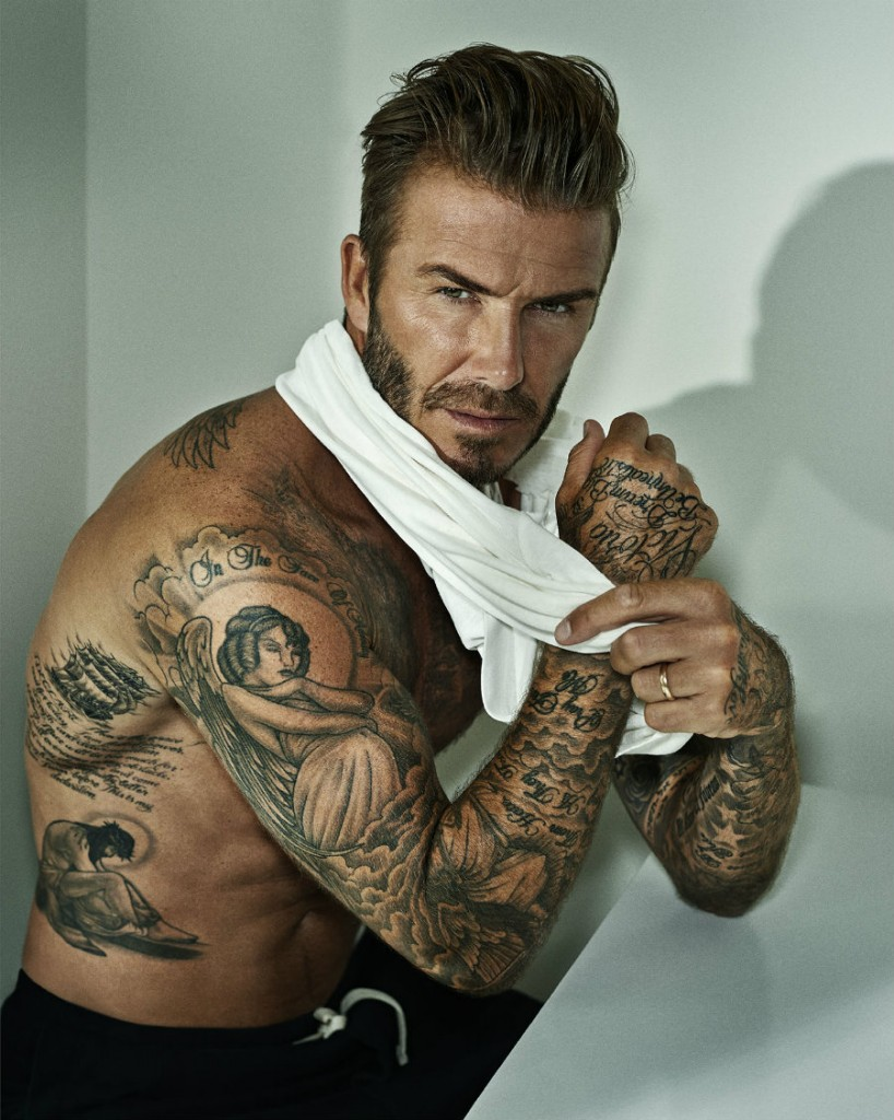 David Beckham, by Marc Hom, Los Angeles 2015
