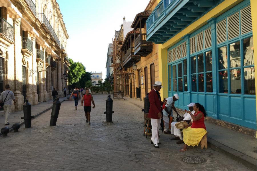CUba Havana streets colors locals