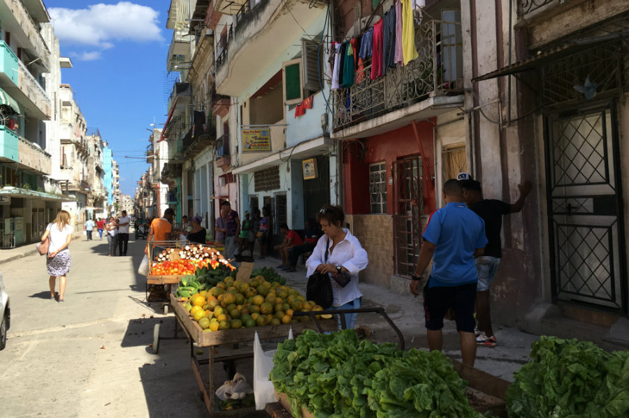 Havana Cuba market