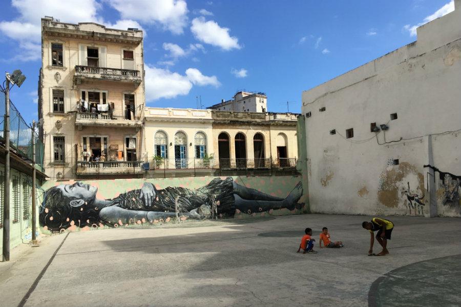 Havana street art Cuba