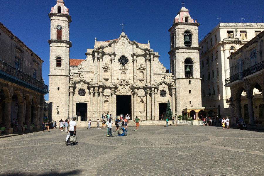 Plaza del Cathedral Havana Cuba