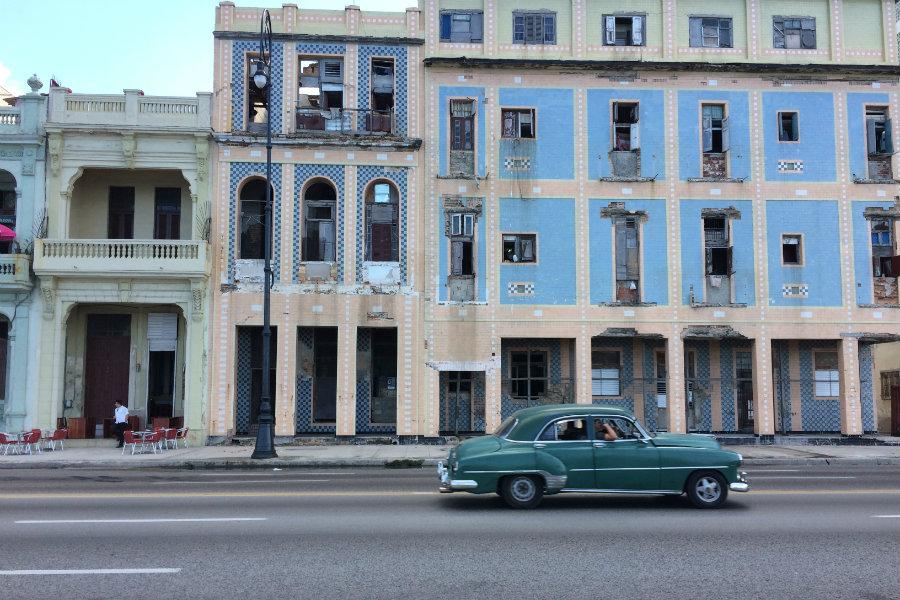 Havana Cuba retro vintage car