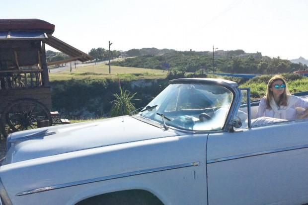 Havana Cuba convertible car