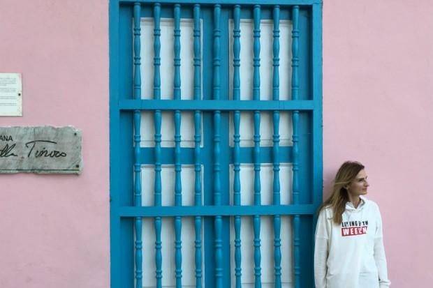 Cuba Havana pink