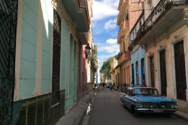 Havana Cuba retro vintage car street