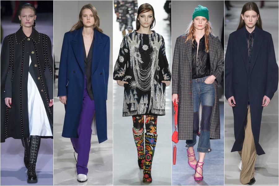 New York fashion Week coats
