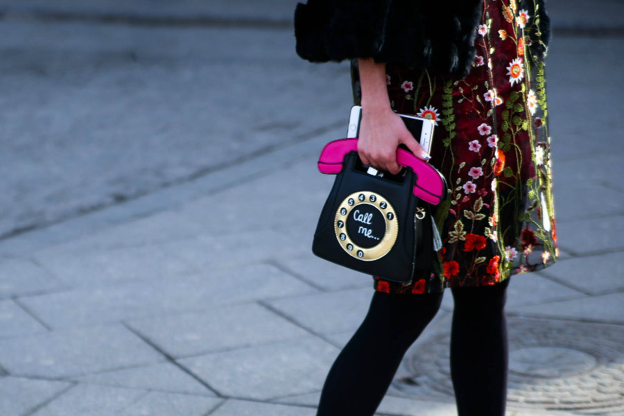 bag streetstyle Fashion Week Russia