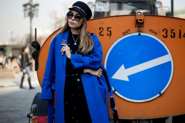 Russia Fashion Week streetstyle