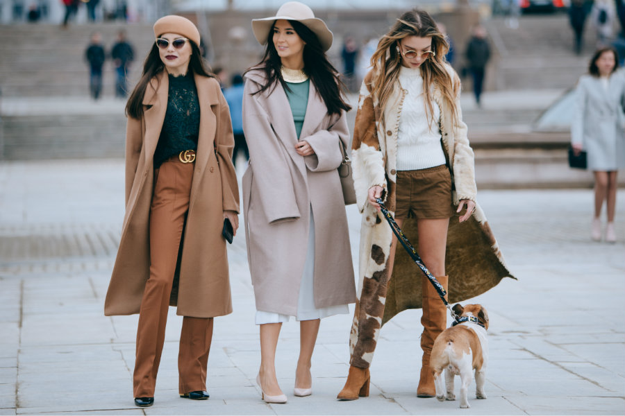 Fashion Week Russia streetstyle