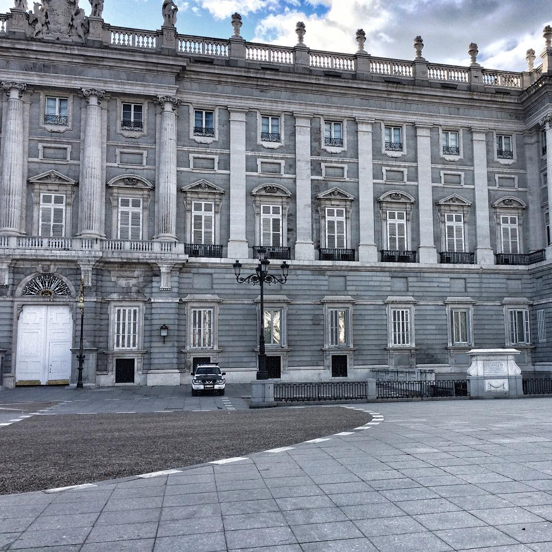 Perfect architecture Madrid spring travel traveler TravelerInMadrid instadaily instamood escapehellip