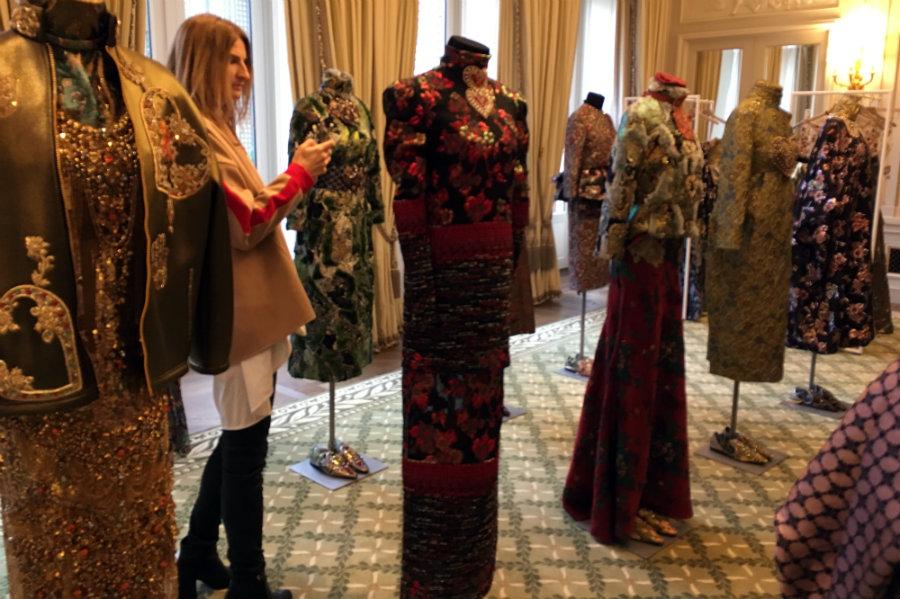 Reem Acra Paris Fashion Week