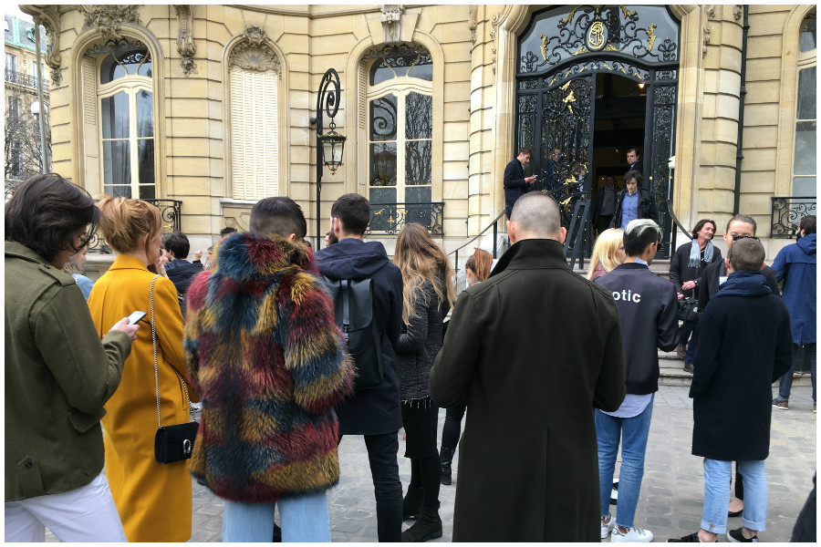 Paris Fashion week march 2017 before Each X Other show
