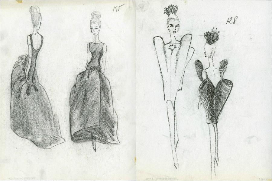 Balenciaga sketches