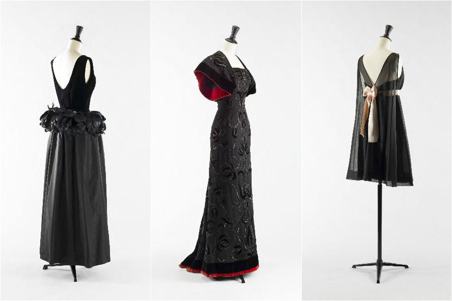 Balenciaga, l'œuvre au noir