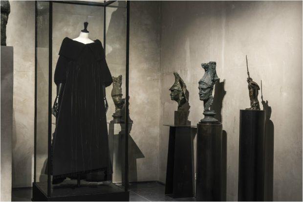 """""""Balenciaga, l'œuvre au noir"""" exhibition: at Palais Galliera, Musée Bourdelle"""