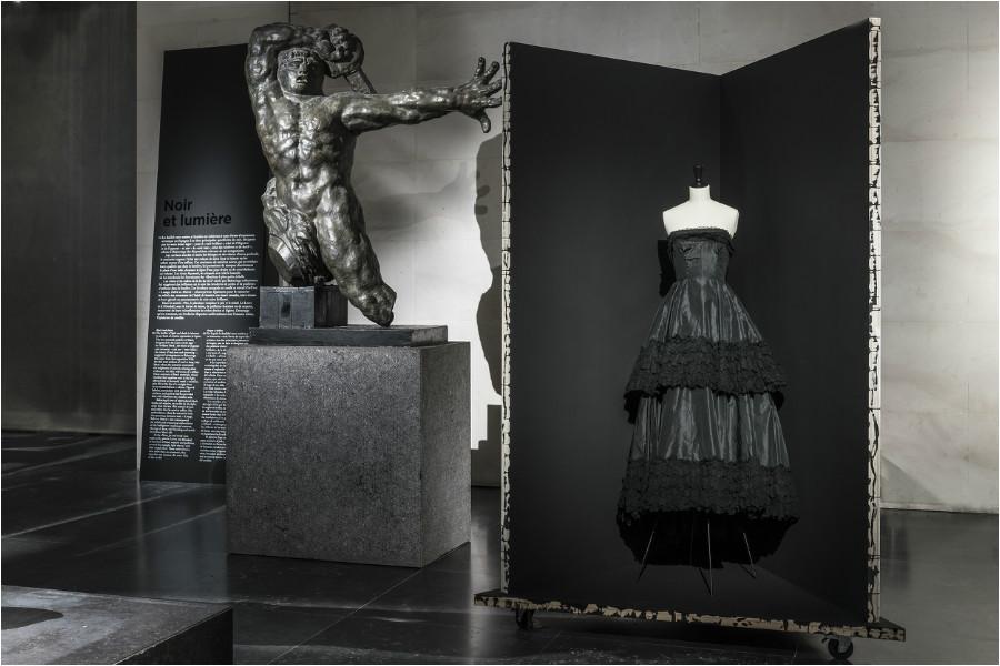 """Balenciaga, l'œuvre au noir"" exhibition at Palais Galliera"