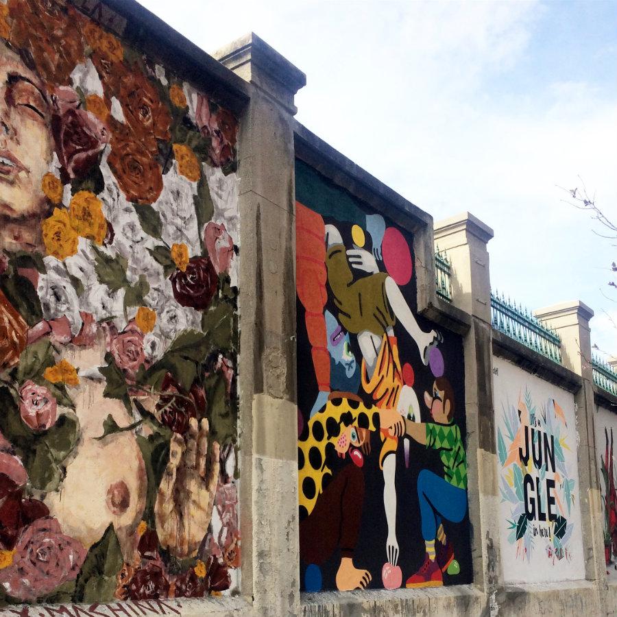 Muros Tabacalera Madrid
