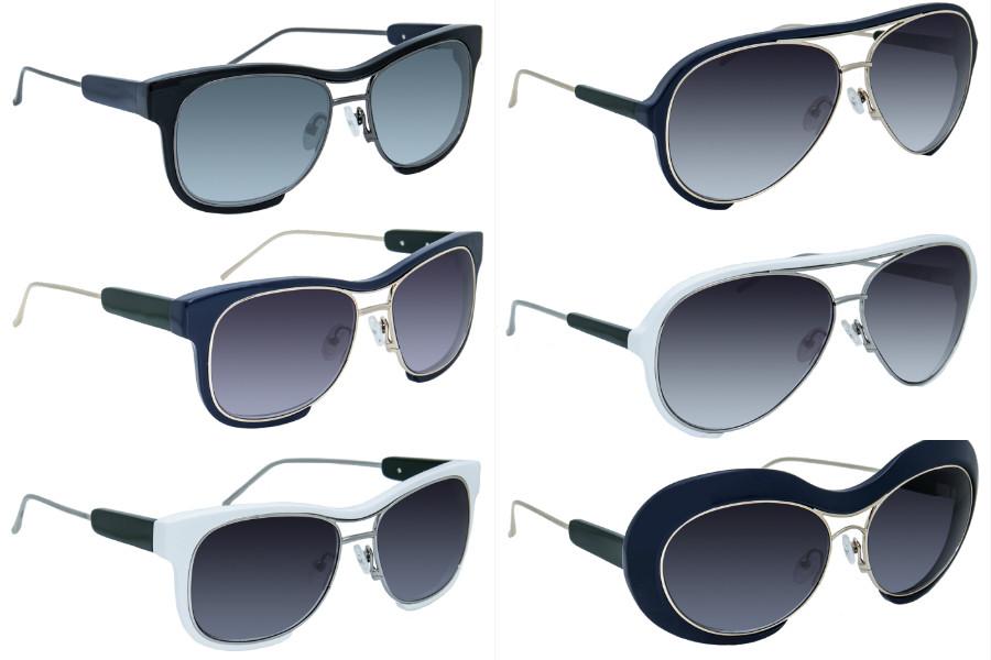 sacai x lindafarrow sunglasses summer