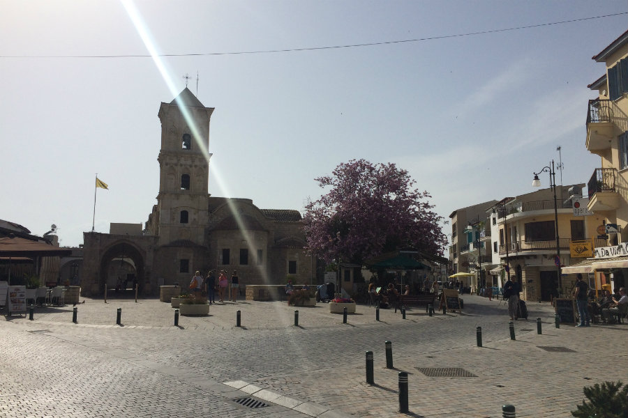 larnaca st lazarus church