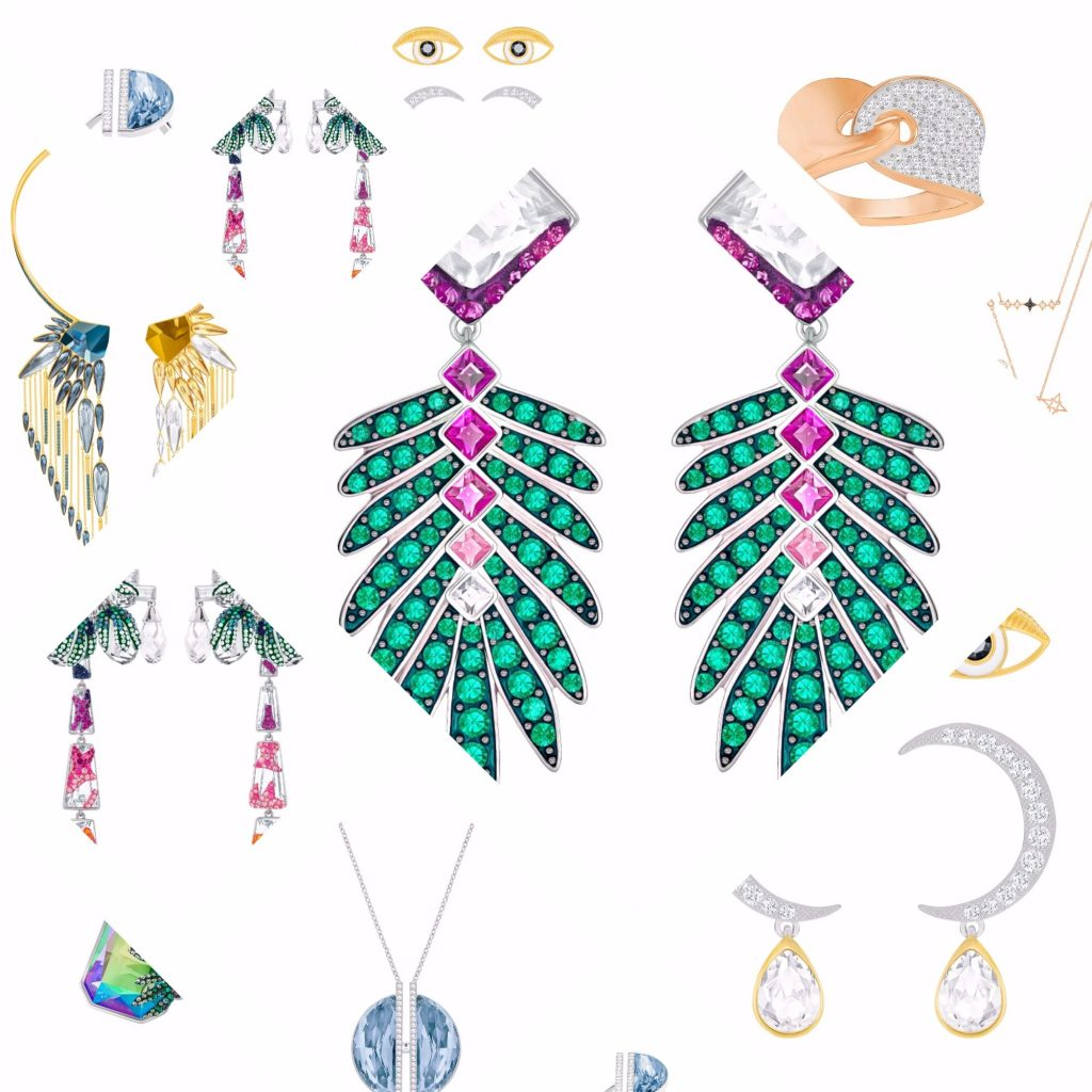 Swarovski SS17 jewellery collection