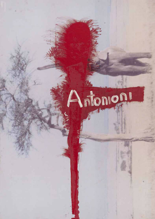 Julian Schnabel Untitled (Antonioni was here), 2010 oil on polyester Copyright: Julian Schnabel