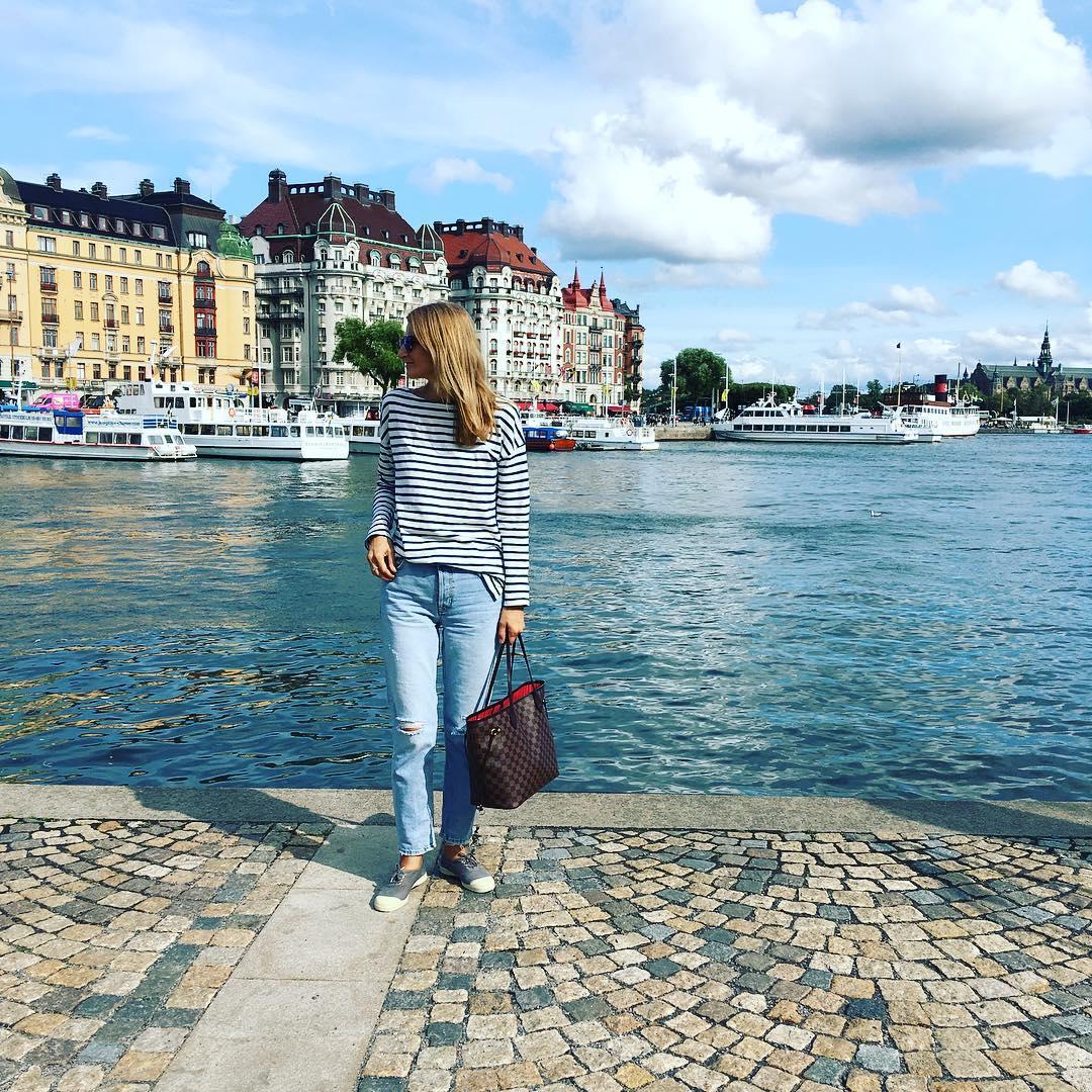 Sunny Stockholm stockholm travel traveler travelphotography sea architecture travelerinstockholm stripeshellip