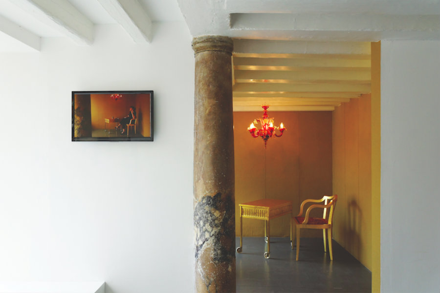 Olivia Mihaltianu, Smoking Room, Venice Biennale