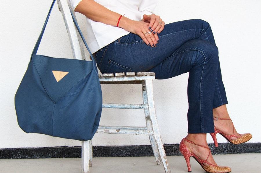atribut bag blue